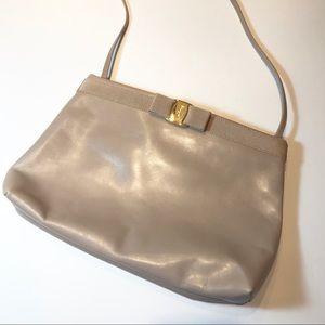 RARE Vintage Leather Salvatore Ferragamo purse